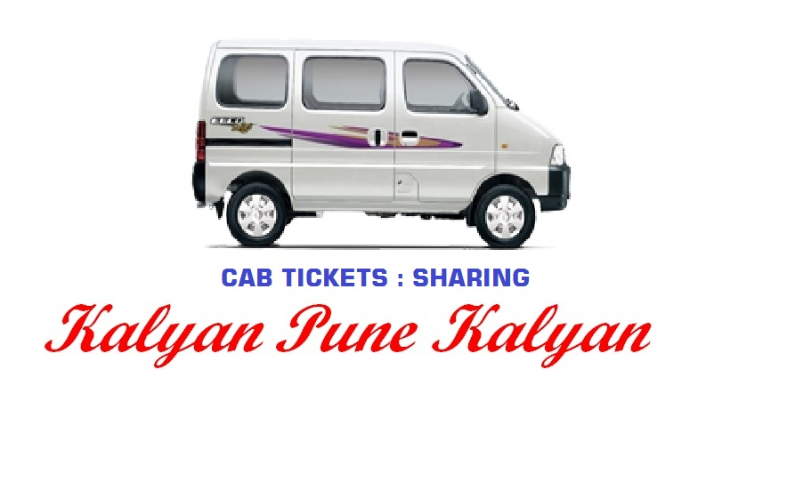 KALYAN / PUNE Share Cabs Rs